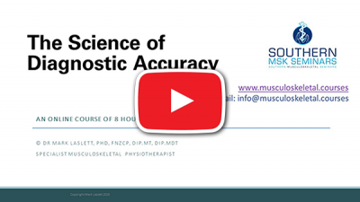 The science of diagnostic accuracy
