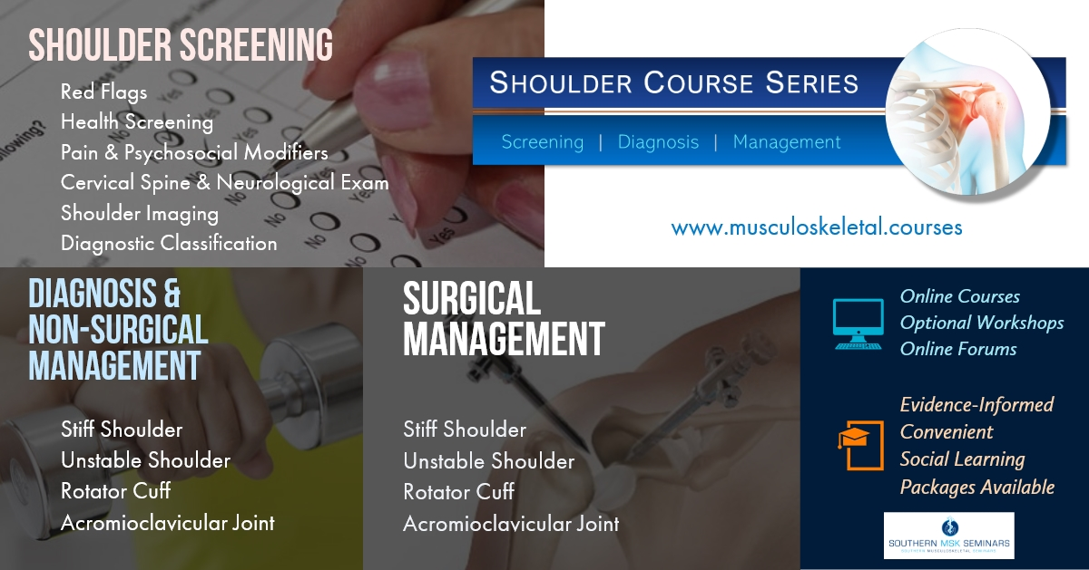 The Shoulder Course Series | All Courses